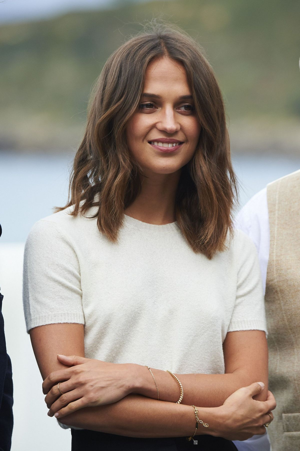 ALICIA VIKANDER à Submergence Photocall au 65e Festival international du film de San Sebastian 22/09/2017