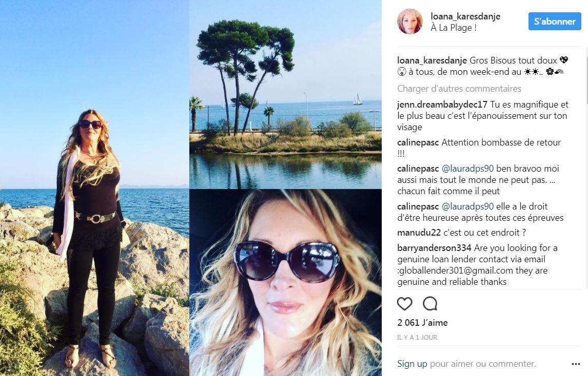 Actu Loana Toujours Plus Mince Sur Instagram Les Internautes Admiratifs Photo Celebrites Tn Les Stars Et Les News People En Live Le Rendez Vous Numero 1 De L Actualite People Et Stars