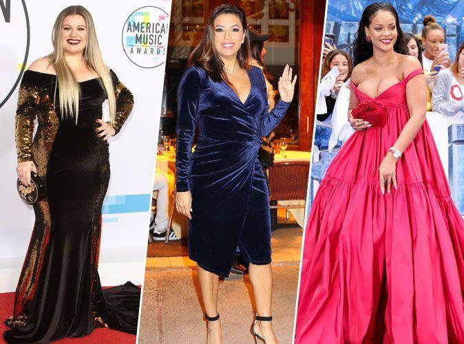 Actu kelly clarkson eva longoria rihanna ces stars qui ont pris du poids en 2017 - Rihanna poids 2017 ...