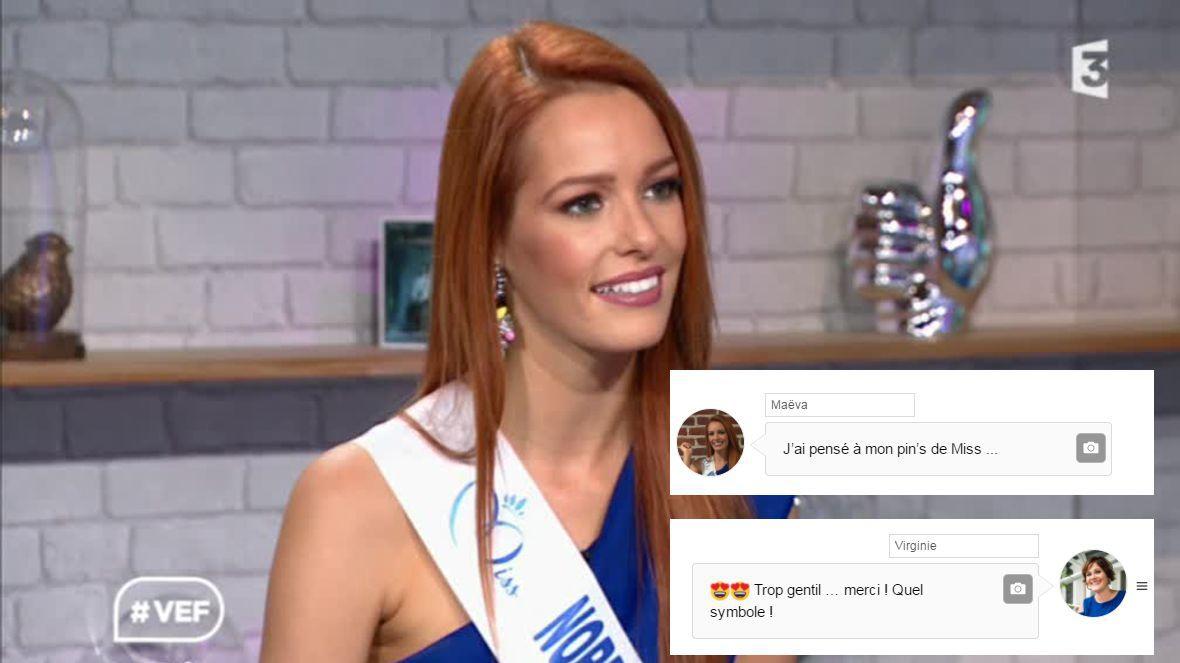 Actu l 39 interview textos de ma va coucke miss france - Miss france 2017 interview ...