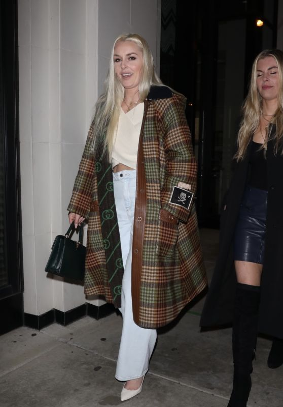 Lindsay Vonn at Catch in West Hollywood 03/03/2021