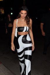 Kendall Jenner Night Out Style - Los Angeles 06/08/2021