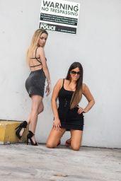 Claudia Romani et Cloe Greco - Ocean Drive à Maimi 06/08/2021