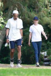 Ellen Pompeo - Randonnée au Griffith Park à Los Feliz 15/06/2021