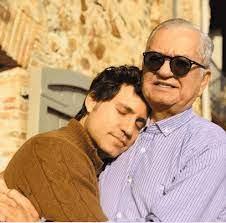 إدغار راميريز مع والده