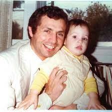 ماوريسيو أوخمان مع والده