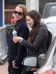 ماكولاي كولكين مع صديقته السابقة جوردان