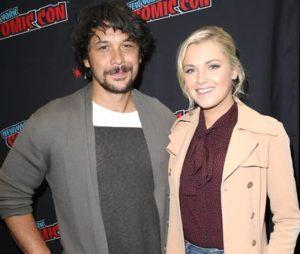 إليزا تايلور مع زوجها