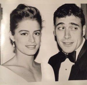جيفري دين مورغان مع زوجته السابقة أنيا