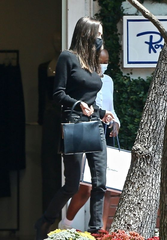 Angelina Jolie - Shopping in West Hollywood 07/14/2021