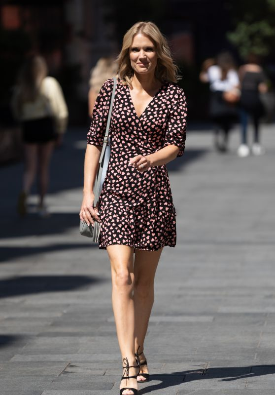 Charlotte Hawkins - Out in London 07/16/2021