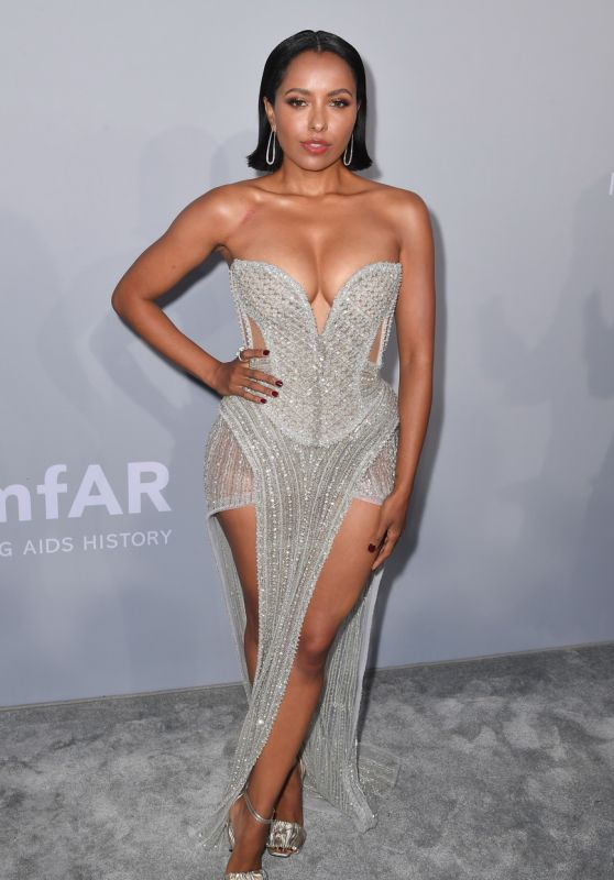 Kat Graham – amfAR Cinema Against AIDS Gala at Cannes Film Festival 07/16/2021